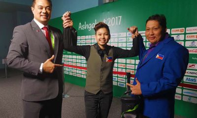 Tiebreaker Times Rodolfo Reyes Jr., Chezka Centeno settle for silver Billiards Bowling News Taekwondo  Rodolfo Reyes Jr Jocel Lyn Ninobla Cheska Centeno 2017 Asian Indoor and Martial Arts Games