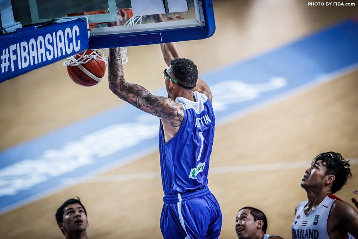 Philippine Sports News - Tiebreaker Times Isaiah Austin's 37 powers Chooks-to-Go to fifth place finish Basketball News  Mono Vampire Kiefer Ravena Jett Manuel Isaiah Austin Chot Reyes Chooks-to-Go Pilipinas Chooks-to-Go 2017 FIBA Asia Champions Cup