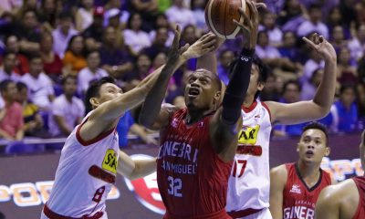 Tiebreaker Times Justin Brownlee impressed with Malcolm Hill: 'He's going to be a great player' Basketball News PBA  PBA Season 42 Malcolm Hill Justin Brownlee Barangay Ginebra San Miguel 2017 PBA Governors Cup