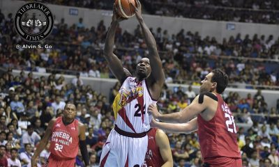 Tiebreaker Times Terrence Watson happy to finally play in the PBA Basketball News PBA  Terrence Warson San Miguel Beermen PBA Season 42 2017 PBA Governors Cup
