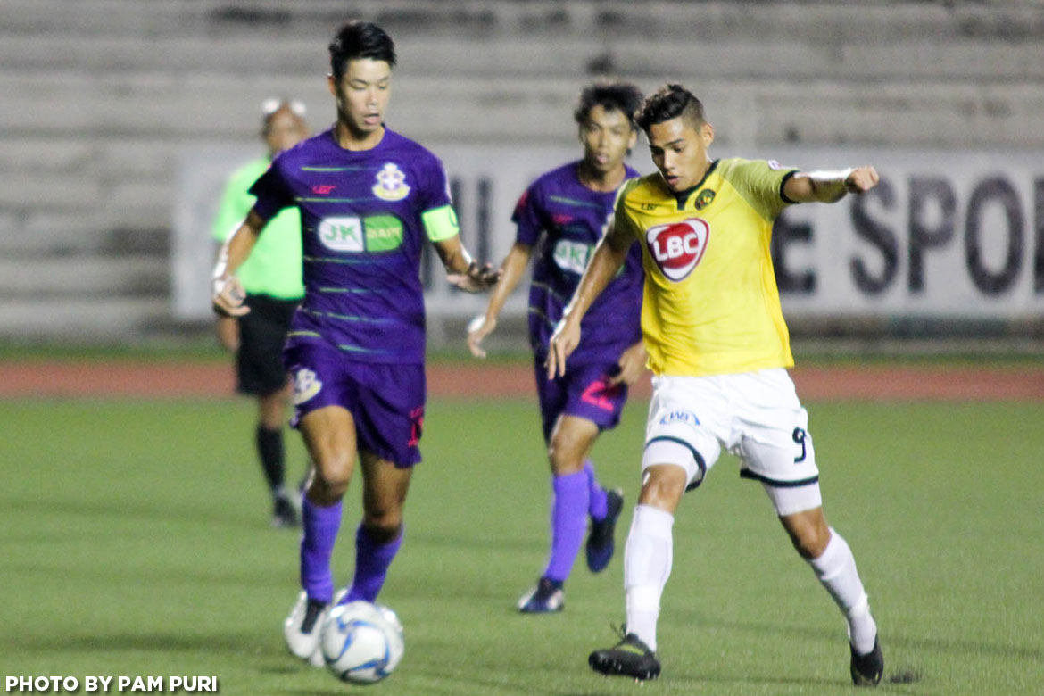 Philippine Sports News - Tiebreaker Times PFL Roundup: Davao Aguilas holds ground against Global-Cebu; JPV-Marikina edges Kaya Football News PFL  Stallion-Laguna FC Phil Younghusband Paolo Salenga Masaki Yanagawa Kaya FC-Makati JP Voltes-Marikina FC Jhan-Jhan Meliza Jason de Jong Ilocos United FC Global-Cebu FC Gary Phillips Fitch Arboleda Dennis Villanueva Davao Aguilas 2017 PFL Season