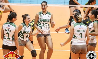 Tiebreaker Times Lady Blazers salvage one win to end campaign CSB News PVL Volleyball  TIP Lady Engineers Saint Benilde Women's Volleyball Ranya Musa Rachel Austero Pauline Cardienta Michael Carino Christine Lim​ Boy Paril Ashley Jinon Alyssa Layug 2017 PVL Women's Collegiate Conference 2017 PVL Season