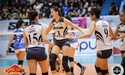 Tiebreaker Times Jaja Santiago adjusting well to Babes Castillo News NU PVL Volleyball  NU Women's Volleyball Jaja Santiago 2017 PVL Women's Colelgiate Conference 2017 PVL Season
