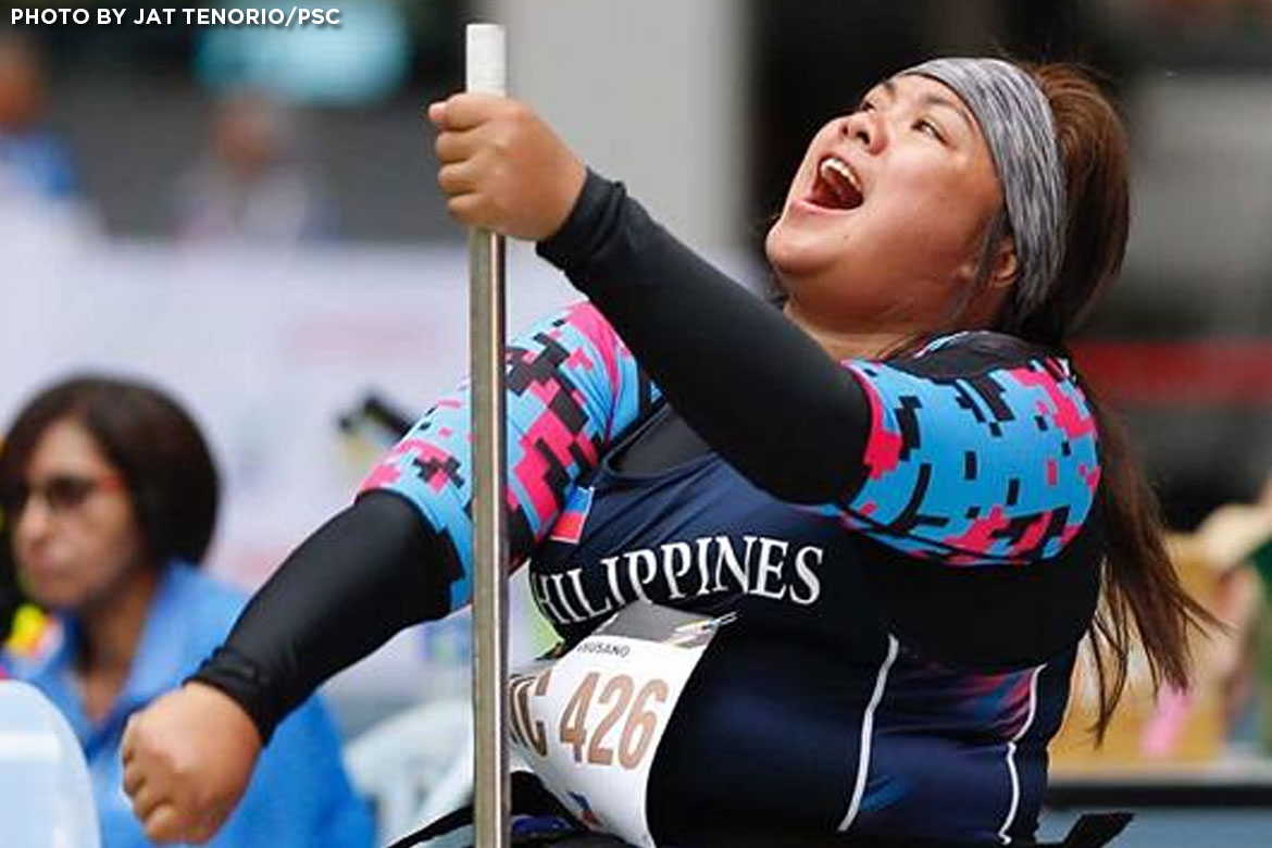 Philippine Sports News - Tiebreaker Times Cendy Asusano bags Philippines' first gold News Track & Field  Cendy Asusano 5th ASEAN Pralympic Games
