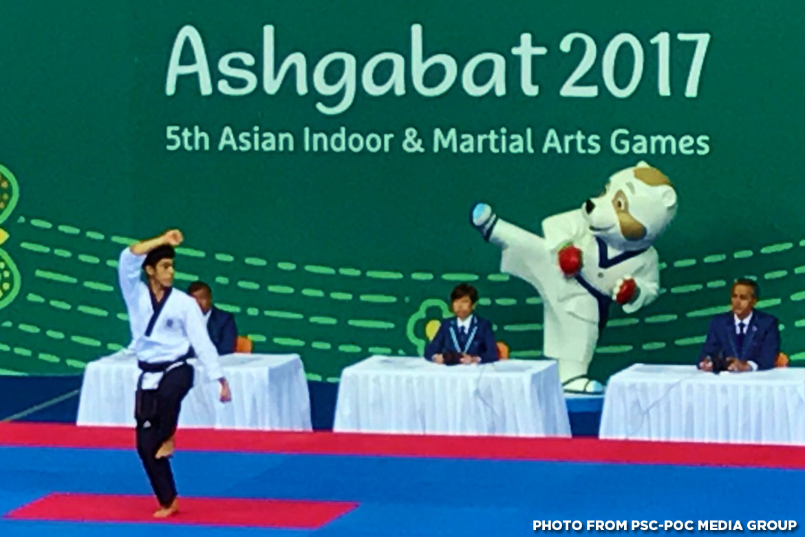 Tiebreaker Times Chezka Centeno, poomsae jins advance to gold medal round Billiards Bowling Muay Thai News Taekwondo  Phillip Delarmino Kenneth Chua (bowling) Dustin Mella Cheska Centeno Carlo Biado Al Llamas 2017 Asian Indoor and Martial Arts Games
