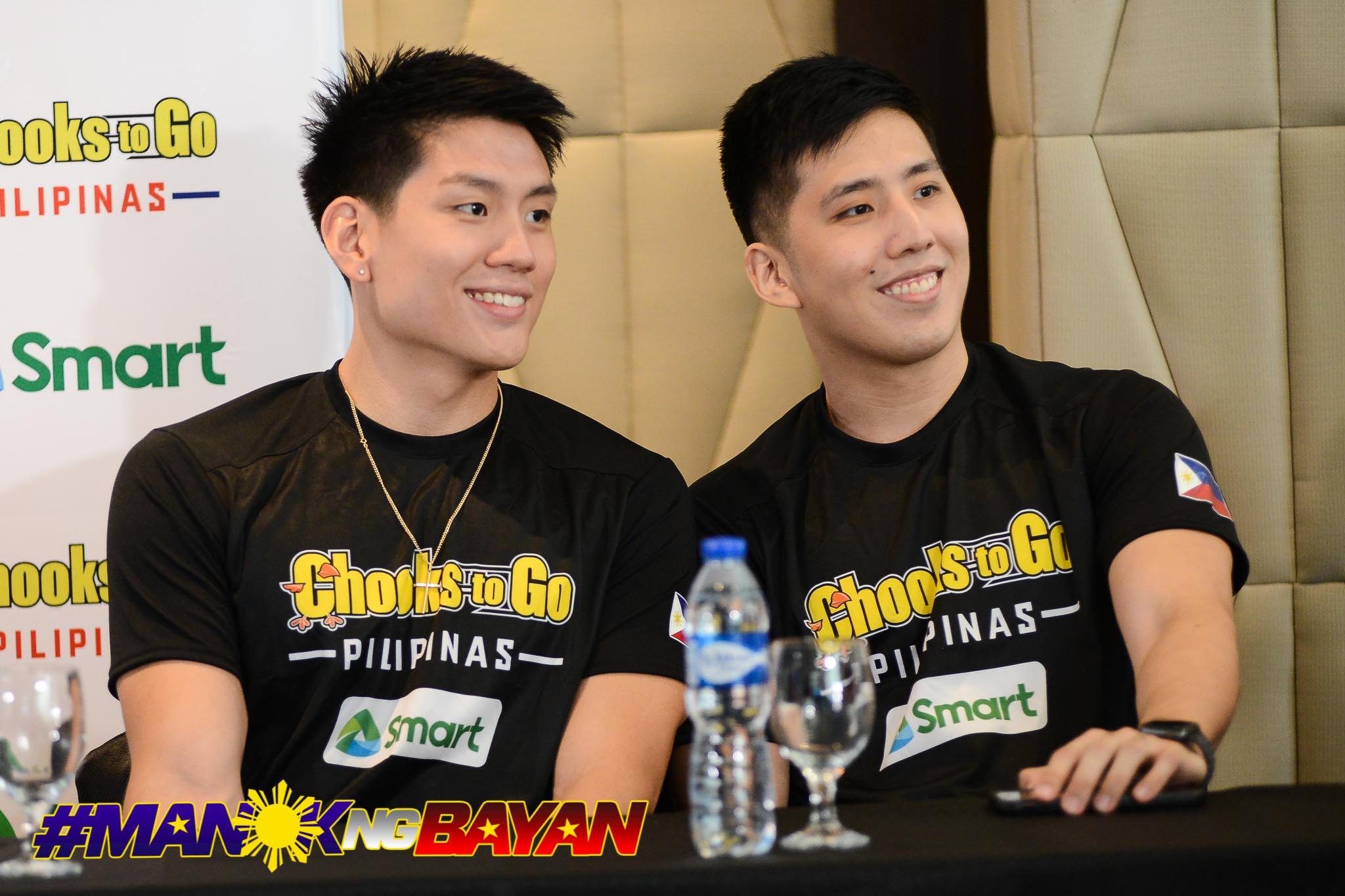 Philippine Sports News - Tiebreaker Times Teng brothers relish reunion in Chooks-to-Go Pilipinas Basketball News  Jeron Teng Jeric Teng Chooks-to-Go Pilipinas Chooks-to-Go 2017 FIBA Asia Champions Cup