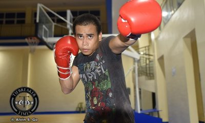 Tiebreaker Times Mark Anthony Barriga raring to prove he's more than just a 'former Olympian' Boxing News  MP Promotions Mark Anthony Barriga
