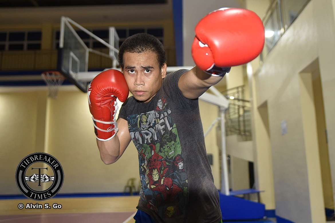 Philippine Sports News - Tiebreaker Times Mark Anthony Barriga raring to prove he's more than just a 'former Olympian' Boxing News  MP Promotions Mark Anthony Barriga