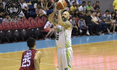 Tiebreaker Times Mick Pennisi's other commitment forces him to end 17-year career Basketball News PBA  PBA Season 42 Mick Pennisi Globalport Batang Pier Bonnie Tan 2017 PBA Governors Cup