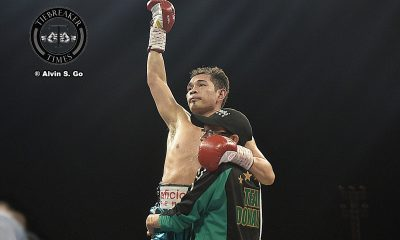 Tiebreaker Times Nonito Donaire Jr. puts on clinic in comeback fight Boxing News  Nonito Donaire Jr.