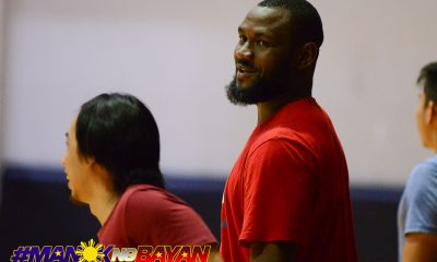 Tiebreaker Times Bright Akhuetie, UP figure in heated tune-up against Muntinlupa Basketball News UP  UP Men's Basketball Muntinlupa Cagers Bright Akhuetie Bo Perasol