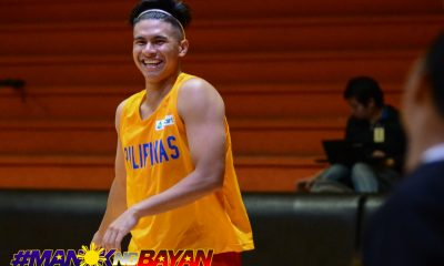 Tiebreaker Times Kiefer Ravena's first practice will be with Gilas 2019 FIBA World Cup Qualifiers Basketball Gilas Pilipinas News  Yeng Guiao Kiefer Ravena Gilas Pilipinas Men 2019 FIBA World Cup