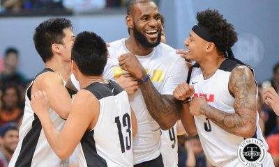 Tiebreaker Times LeBron James gets Manila on its feet once again Basketball News  Nike Philippines NBA Philippines Lebron James
