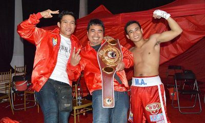 Tiebreaker Times Mak Anthony Barriga takes home WBO International title Boxing News  MP Promotions Mark Anthony Barriga