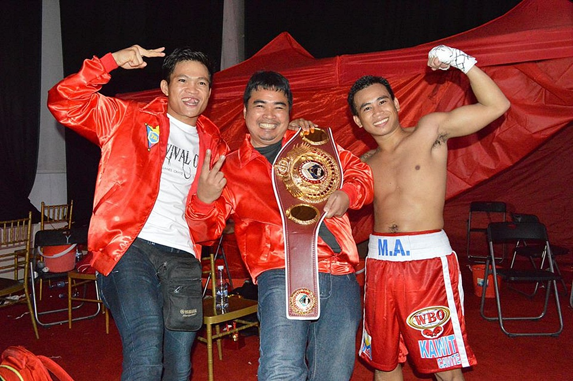 Philippine Sports News - Tiebreaker Times Mak Anthony Barriga takes home WBO International title Boxing News  MP Promotions Mark Anthony Barriga
