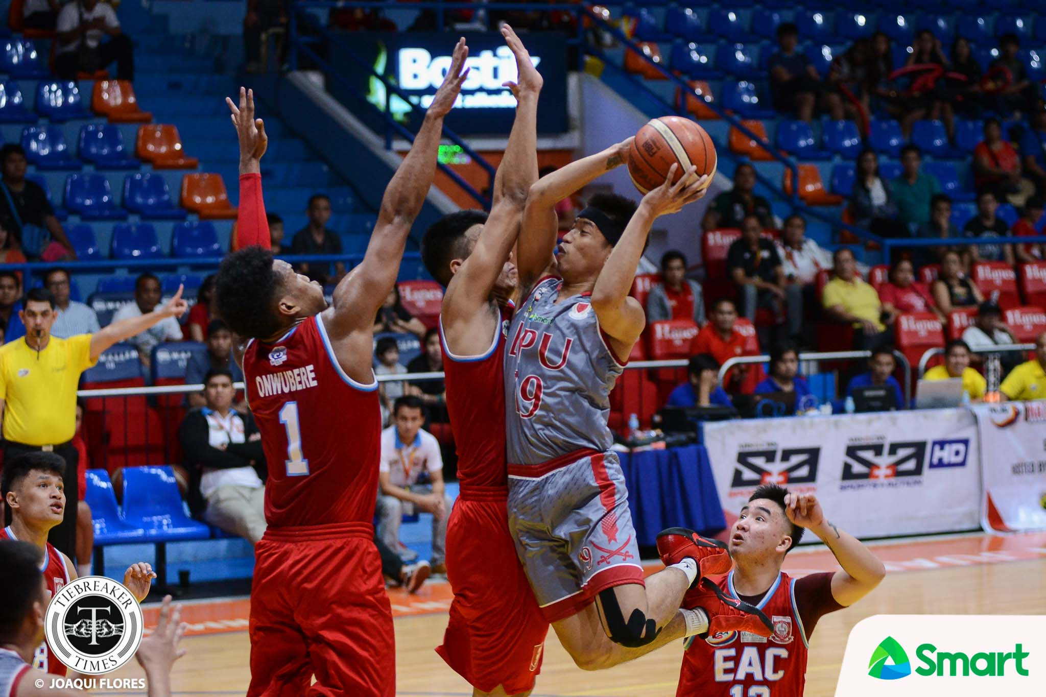 Tiebreaker Times Marcelino twins close out EAC as Lyceum goes to 14-0 Basketball EAC LPU NCAA News  Topex Robinson Sidney Onwubere NCAA Season 93 Seniors Basketball NCAA Season 93 MJ Ayaay Lyceum Seniors Basketball Jerome Garcia Jayvee Marcelino Jaycee Marcelino EAC Seniors Basketball CJ Perez