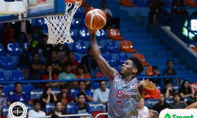 Tiebreaker Times CJ Perez notches career-high, picks up second SMART/Chooks Player of the Week Basketball LPU NCAA News  NCAA Season 93 Seniors Basketball NCAA Season 93 NCAA Player of the Week MJ Ayaay Lyceum Seniors Basketball Laurenz Victoria CJ Perez Chooks-to-Go Bong Quinto