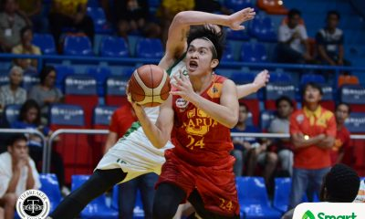 Tiebreaker Times Mapua ends 11-game skid, formally eliminates Saint Benilde Basketball CSB MIT NCAA News  Unique Naboa TY Tang NCAA Season 93 Seniors Basketball NCAA Season 93 Mapua Seniors Basketball Leo Gabo Laurenz Victoria Denniel Aquirre Clement Leutcheu Benilde Seniors Basketball Atoy Co