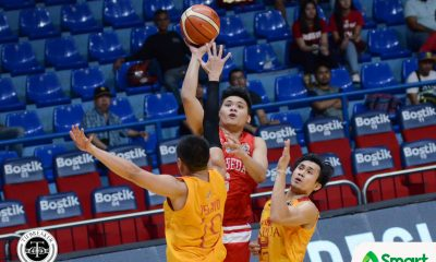 Tiebreaker Times San Beda wallops Mapua even without Bolick, Fernandez Basketball MIT NCAA News SBC  San Beda Seniors Basketball NCAA Season 93 Seniors Basketball NCAA Season 93 Mapua Seniors Basketball Leo Gabo Jude Roque JP Nieles JB Sison Javee Mocon Denniel Aguirre Atoy Co AC Soberano
