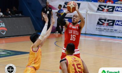 Tiebreaker Times Potts, Mocon make clutch shots as San Beda holds JRU to secure Final Four spot Basketball JRU NCAA News SBC  Vergel Meneses San Beda Seniors Basketball NCAA Season 93 Seniors Basketball NCAA Season 93 JRU Seniors Basketball Jed Mendoza Javee Mocon Donald Tankoua Davon Potts Boyet Fernandez Abdulwahab Abdulrazak