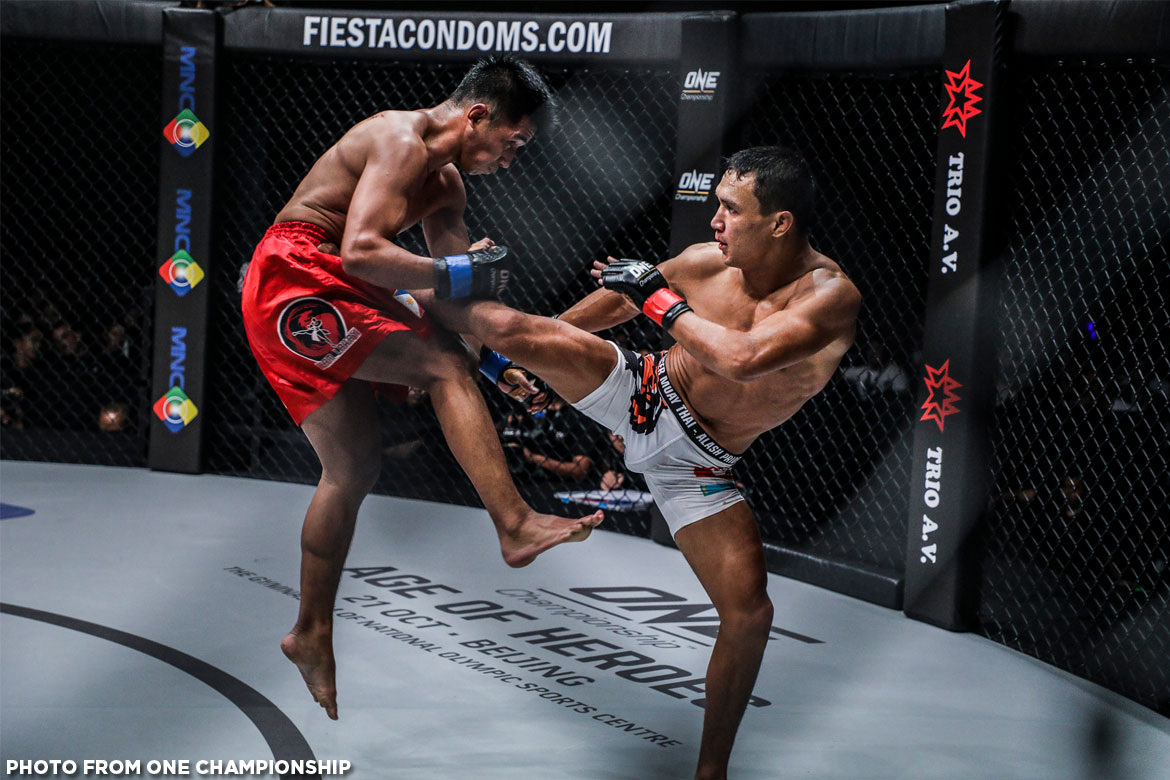 Tiebreaker Times Higher Stakes: Geje Eustaquio faces Kairat Akhmetov for interim Flyweight crown in Manila Mixed Martial Arts News ONE Championship  ONE: Global Heroes Kairat Akhmetov Geje Eustaquio