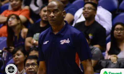 Tiebreaker Times Norman Black expresses frustration with calls: 'We're just tired already' Basketball News PBA  PBA Season 43 Norman Black Meralco Bolts 2018 PBA Commissioners Cup