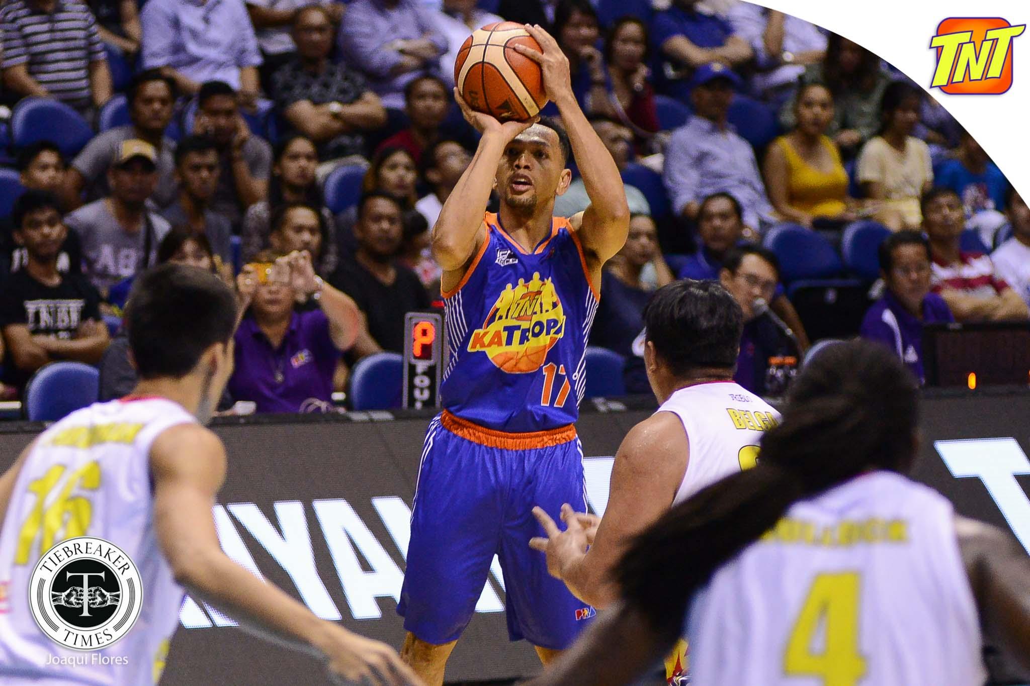 Philippine Sports News - Tiebreaker Times Jayson Castro the Facilitator steps up for TNT in semis-clinching win Basketball News PBA  TNT Katropa PBA Season 42 Jayson Castro Glen Rice Jr. 2017 PBA Governors Cup
