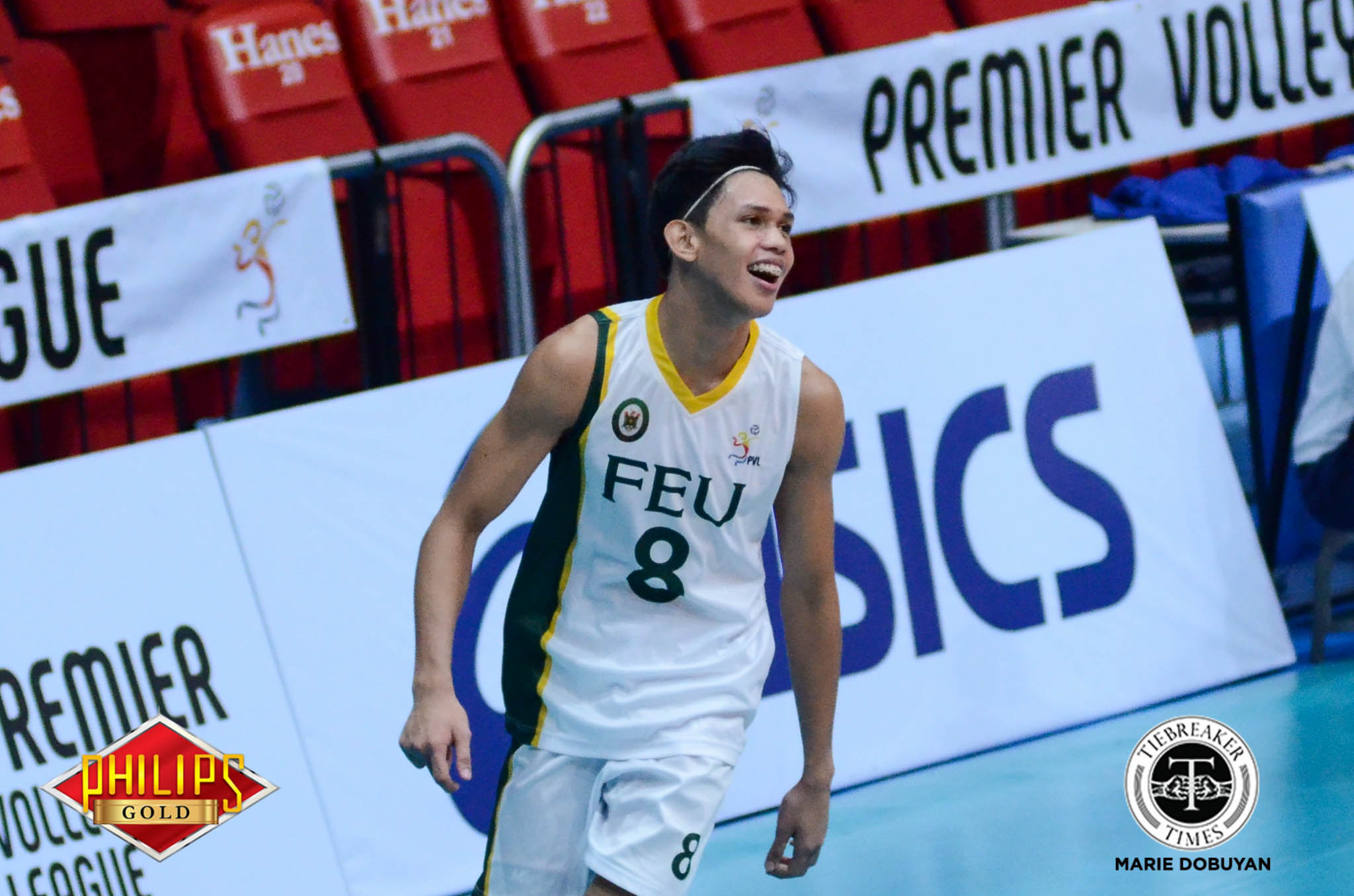 Philippine Sports News - Tiebreaker Times Tamaraws outlast Tiger Spikers for third win FEU News PVL UST Volleyball  UST Men's Volleyball Rikko Marmeto Rey Diaz Redijohn Paler Odjie Mamon Kris Silang JP Bugaoan Joshua Umandal FEU Men's Volleyball Arnold Bautista 2017 PVL Season 2017 PVL Men's Collegiate Conference