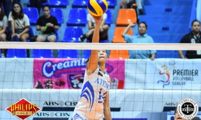 Tiebreaker Times Bea De Leon sentimental as she begins final flight with Ateneo ADMU News PVL Volleyball  Bea De Leon Ateneo-Motolite Lady Eagles 2018 PVL Season 2018 PVL Open Conference