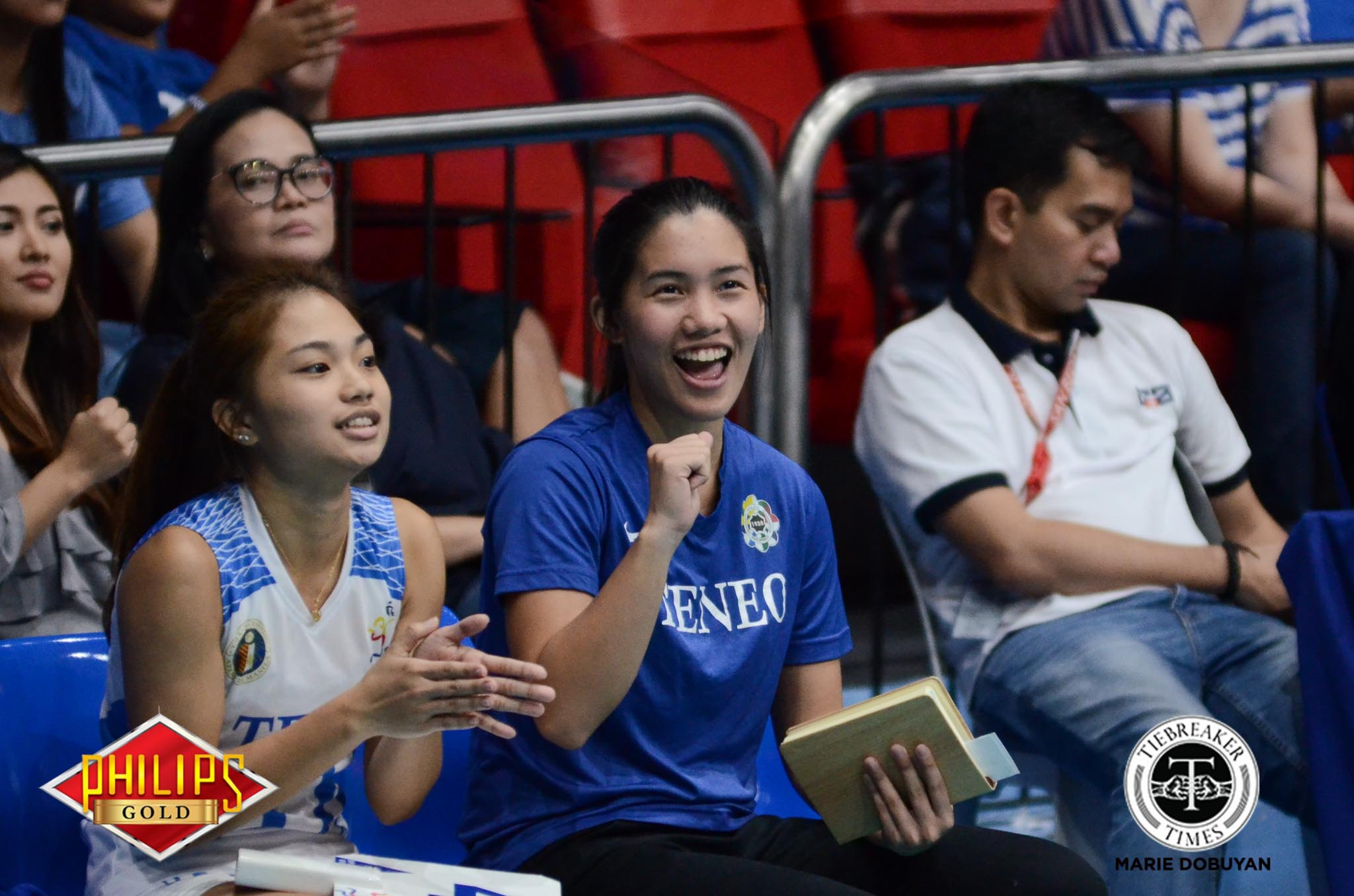 Philippine Sports News - Tiebreaker Times Coach Jia sees promise in Ateneo's setters ADMU News PVL Volleyball  Jia Morado Ateneo Women's Volleyball 2017 PVL Women's Collegiate Conference 2017 PVL Season