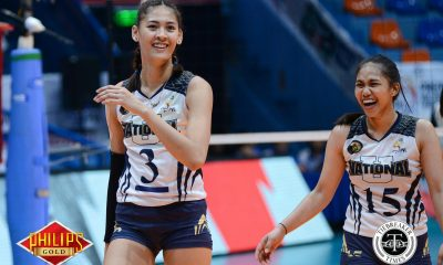 Tiebreaker Times Jaja Santiago shows maturity by choosing NU again News NU PVL Volleyball  NU Women's Volleyball Jaja Santiago Babes Castillo 2017 PVL Women's Collegiate Conference 2017 PVL Season