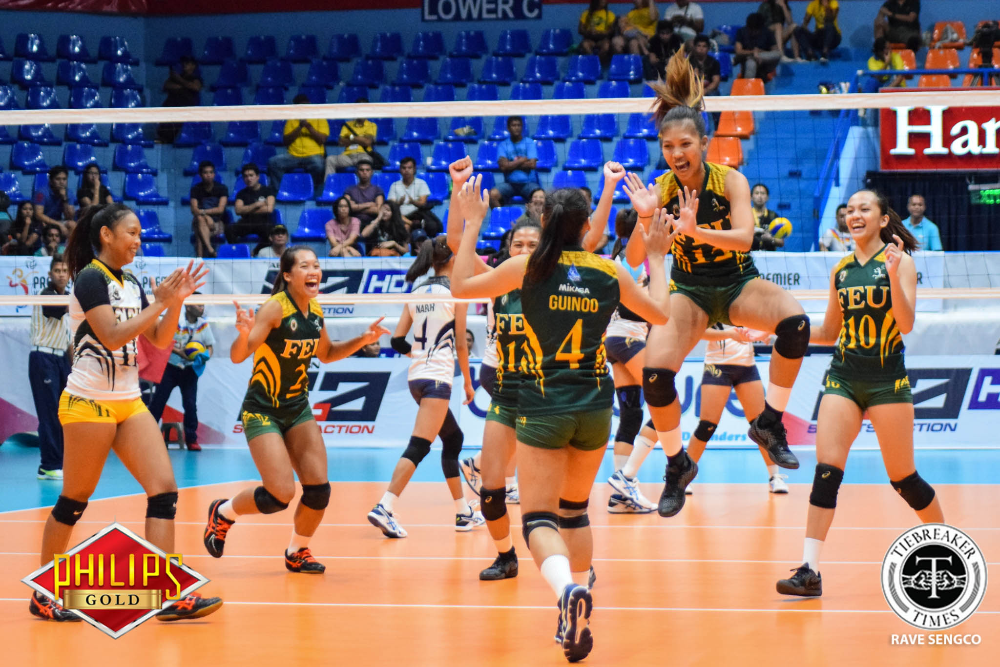 Tiebreaker Times Lady Tamaraws seal Final Four seat with win over Lady Pirates News PVL Volleyball  Toni Basas Ria Duremdes Lyceum Women's Volleyball Jerrili Malabanan George Pascua FEU Women's Volleyball Emil Lontoc Christine Miralles Angelica Cayuna 2017 PVL Women's Colelgiate Conference 2017 PVL Season