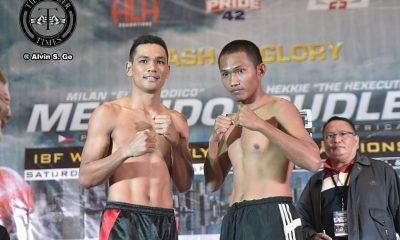 Tiebreaker Times Arthur Villanueva inspired by Milan Melindo's journey to gold Boxing News  Pinoy Pride 42 Arthur Villanueva ALA Promotions