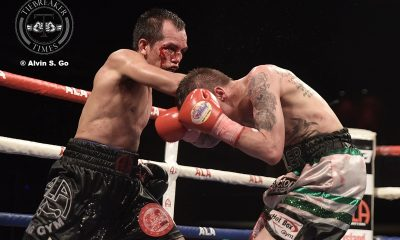 Tiebreaker Times Bloodied Milan Melindo loses IBF crown in Japan Boxing News  Milan Melindo ALA Promotions