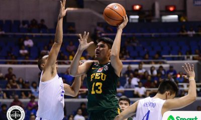 Tiebreaker Times Blue Eagles turned Tamaraws show up big time in Final Four Basketball FEU News UAAP  UAAP Season 80 Men's Basketball UAAP Season 80 Hubert Cani FEU Men's Basketball Arvin Tolentino
