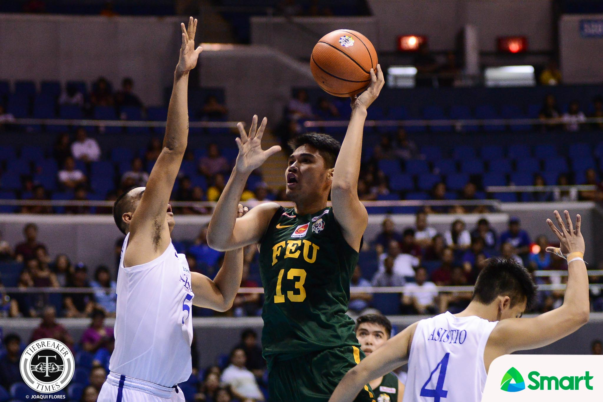Philippine Sports News - Tiebreaker Times Blue Eagles turned Tamaraws show up big time in Final Four Basketball FEU News UAAP  UAAP Season 80 Men's Basketball UAAP Season 80 Hubert Cani FEU Men's Basketball Arvin Tolentino