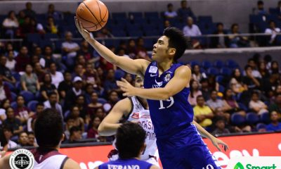 Tiebreaker Times Tyler Tio shines as Ateneo overwhelms UP ADMU Basketball News UAAP UP  UP Men's Basketball UAAP Season 80 Men's Basketball UAAP Season 80 Tyler Tio Thirdy Ravena Sandy Arespacochaga Jun Manzo Juan Gomez De Liano Jarrell Lim Bo Perasol Ateneo Men's Basketball Aaron Black