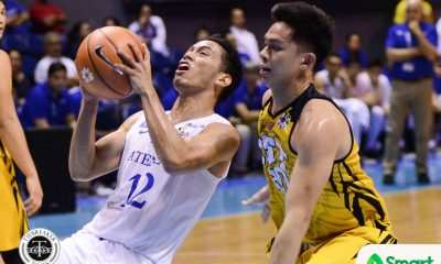 Tiebreaker Times Matt Nieto on setting career-high: 'I'm just doing my job' ADMU Basketball News UAAP  UAAP Season 80 Men's Basketball UAAP Season 80 Sandy Arespacochaga Matt Nieto Ateneo Men's Basketball