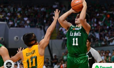 Tiebreaker Times Even after career game, Aljun Melecio still thinking of ways to improve Basketball DLSU News UAAP  UAAP Season 80 Men's Basketball UAAP Season 80 DLSU Men's Basketball Aljun Melecio