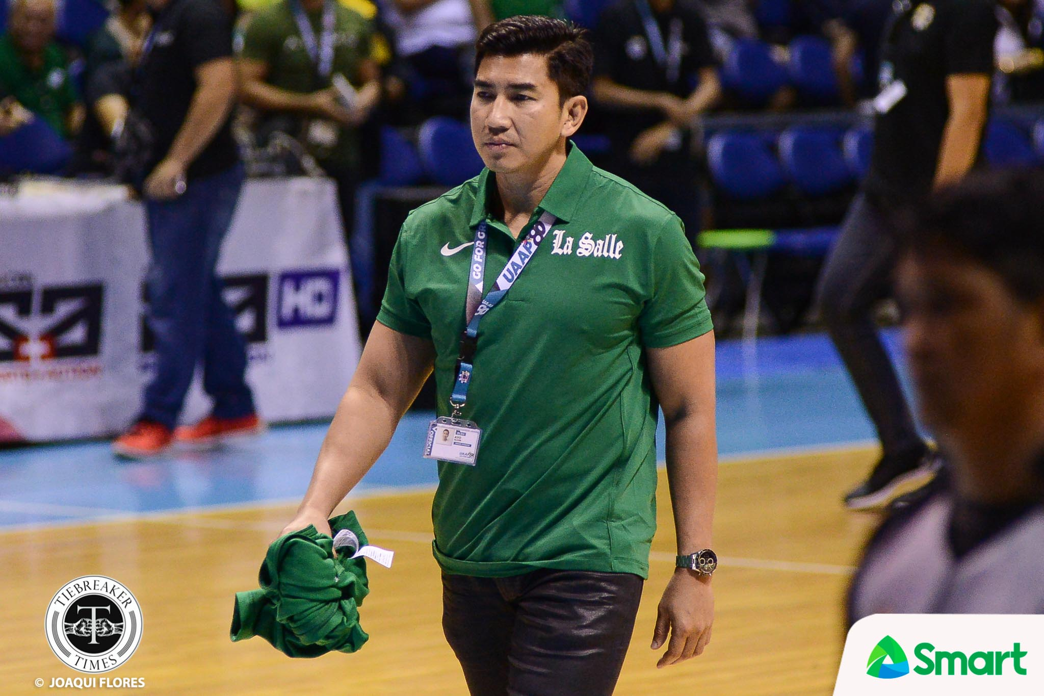 "La Salle officially names Louie Gonzalez as new Green Archers coach — UAAP"""