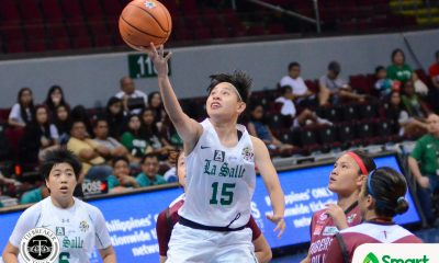 Tiebreaker Times Charmaine Torres, Marga Dagdagan push La Salle past State U for first win Basketball DLSU News UAAP UP  UP Women's Basketball UAAP Season 80 Women's Basketball UAAP Season 80 Marga Dagdagan Kenneth Raval Iriss Isip DLSU Women's Basketball Daphne Esplana Cholo Villanueva Charmaine Torres
