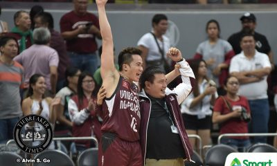 Tiebreaker Times Paul Desiderio, UP light it up, hand La Salle first loss Basketball DLSU News UAAP UP  UP Men's Basketball UAAP Season 80 Men's Basketball UAAP Season 80 Ricci Rivero Jun Manzo Juan Gomez De Liano Javi Gomez de Liano DLSU Men's Basketball Bo Perasol Ben Mbala Andrei Caracut Aldin Ayo