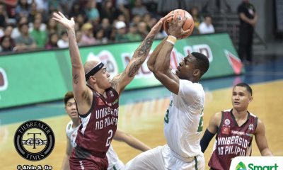 Tiebreaker Times Rob Ricafort provides emotional boost to UP Basketball News UAAP UP  UP Men's Basketball UAAP Season 80 Men's Basketball UAAP Season 80 Rob Ricafort