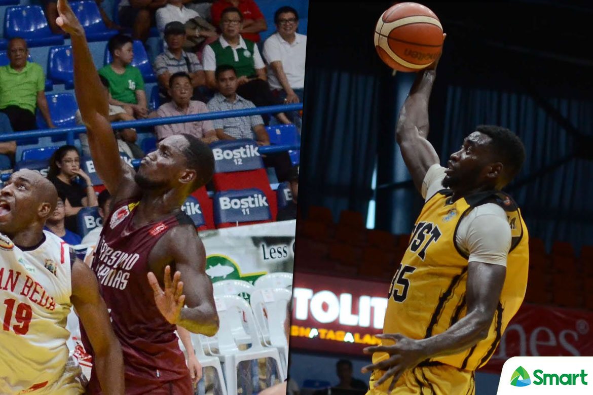 Tiebreaker Times UAAP clears UP's Ouattara and UST's Akomo Basketball News UAAP UP UST  UST Men's Basketball UP Men's Basketball UAAP Season 80 Men's Basketball UAAP Season 80 Steve Akomo Ibrahim Ouattara