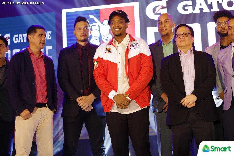Philippine Sports News - Tiebreaker Times Jason Perkins ditches suit for barong on draft night Basketball News PBA  Phoenix Fuel Masters PBA Season 43 Jason Perkins 2017 PBA Draft