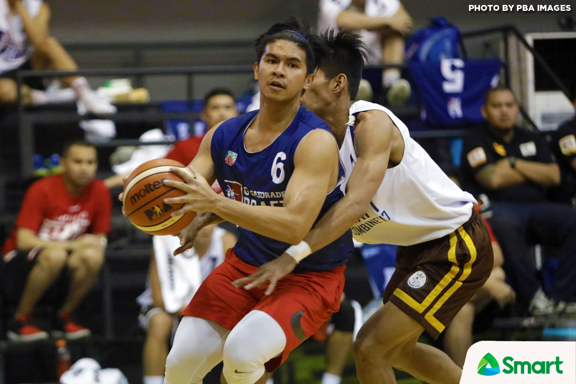 Philippine Sports News - Tiebreaker Times Kiefer Ravena lifts A-2 past Jeron Teng's B-3 in Draft Combine Finals Basketball News PBA  Robbie Herndon Raymar Jose PBA Season 43 Kiefer Ravena Jett Manuel Jeron Teng Jason Perkins Gab Dagangon Dan Sara Christian Geronimo Chris De Chavez 2017 PBA Draft