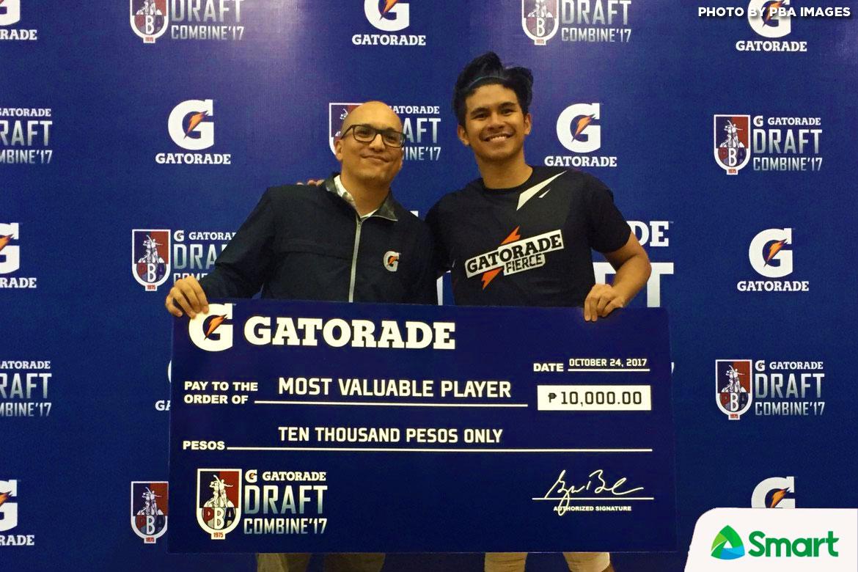 Philippine Sports News - Tiebreaker Times Kiefer Ravena displays competitive fire in Rookie camp Basketball News PBA  PBA Season 43 Kiefer Ravena 2017 PBA Draft