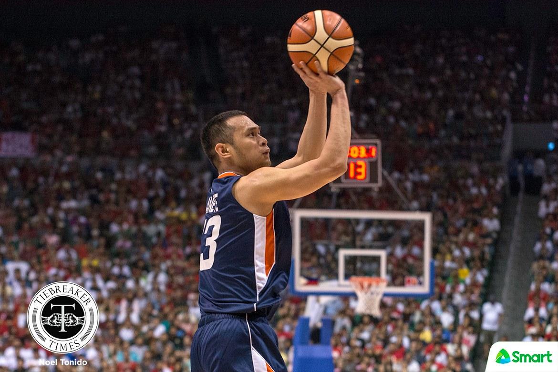 Philippine Sports News - Tiebreaker Times Garvo Lanete makes first-ever Finals start worth it Basketball News PBA  PBA Season 42 Meralco Bolts Garvo Lanete 2017 PBA Governors Cup