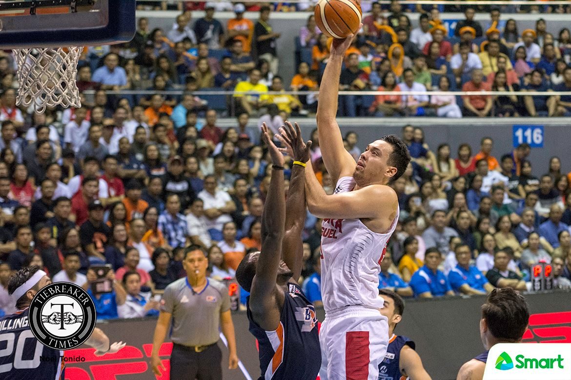 Philippine Sports News - Tiebreaker Times Greg Slaughter on first-ever BPC: 'It just shows that you can always come back stronger' Basketball News PBA  PBA Season 42 Greg Slaughter Barangay Ginebra San Miguel 2017 PBA Governors Cup