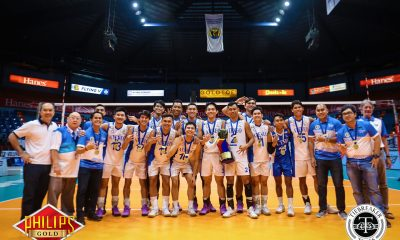 Tiebreaker Times Ateneo continues PVL dynasty; Oliver Almadro secures triple crown ADMU FEU News PVL Volleyball  UST Men's Volleyball RJ Paler Rey Diaz Oliver Almadro NU Men's Volleyball Marck Espejo Manuel Sumanguid Ish Polvorosa Gian Glorioso FEU Men's Volleyball Ateneo Men's Volleyball